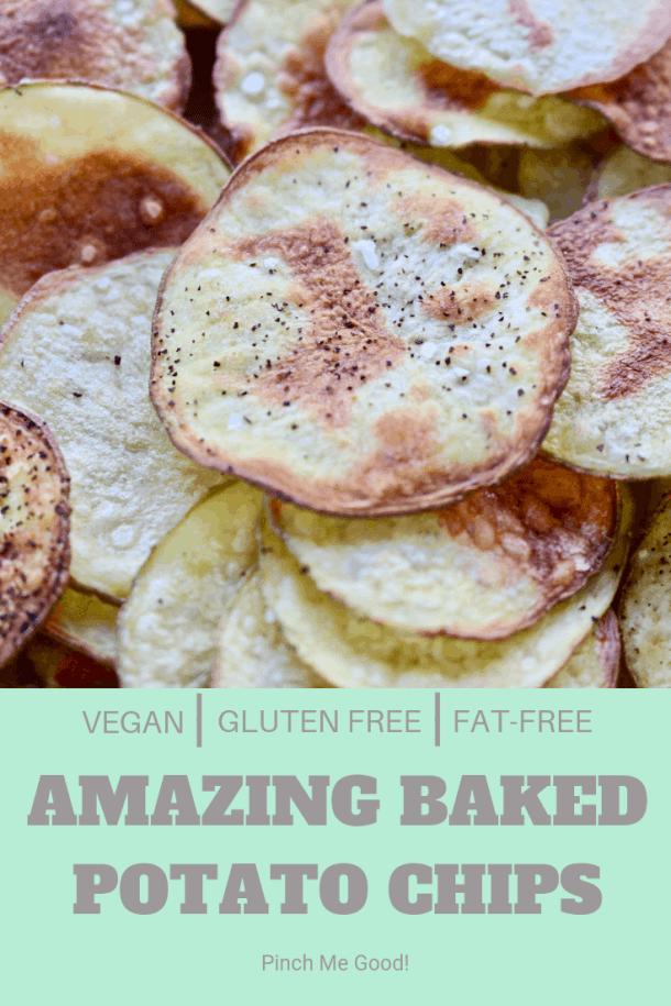 Amazing Baked Potato Chips