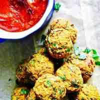Vegan and Gluten Free Butternut Squash Veggie Balls