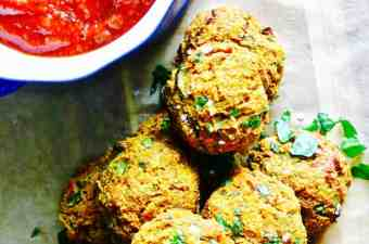 Butternut SquaSH Veggie Balls