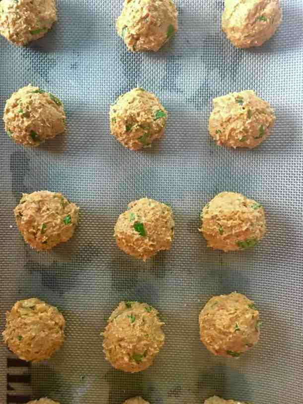 Raw Butternut Squash Balls