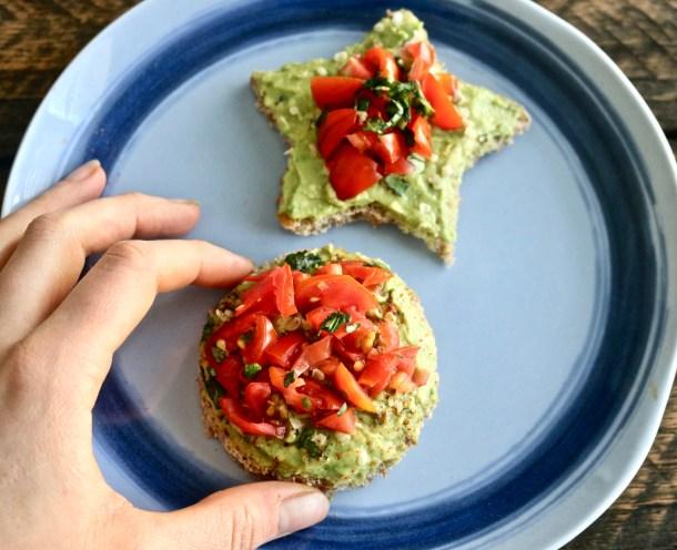 Kid-Friendly Healthy Avocado Toast Photo