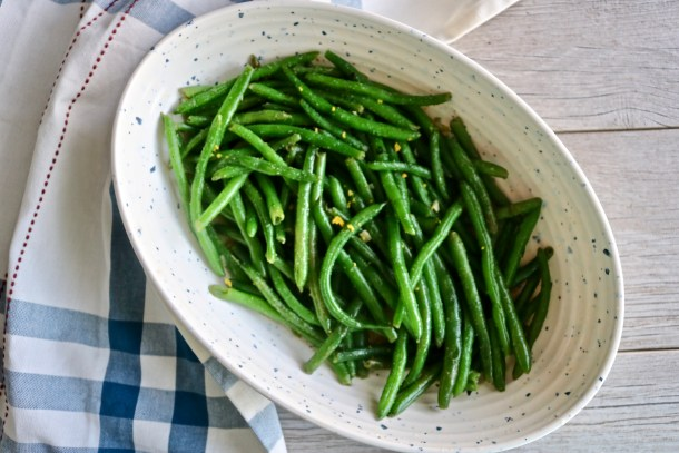 The Most Amazing Green Beans Aerial view