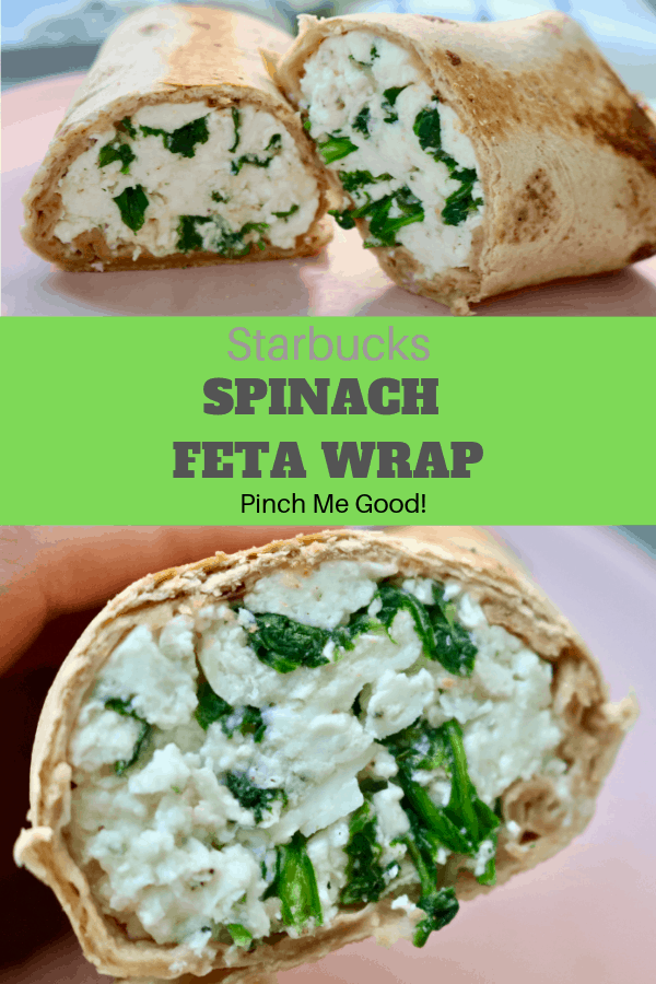 Starbucks Spinach Feta Wrap