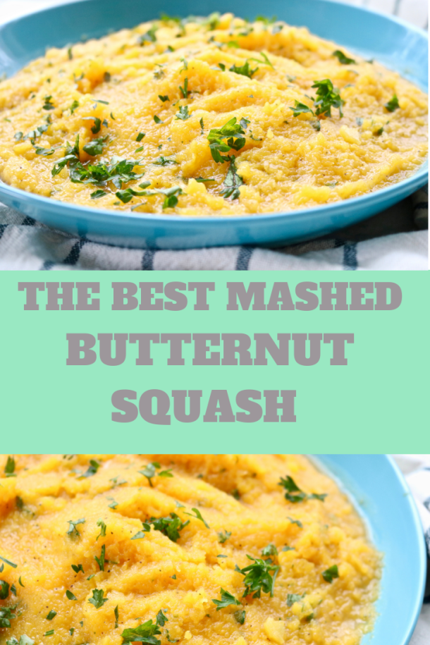 The best mashed butternut squash