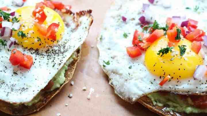 Southwestern Breakfast Tostadas