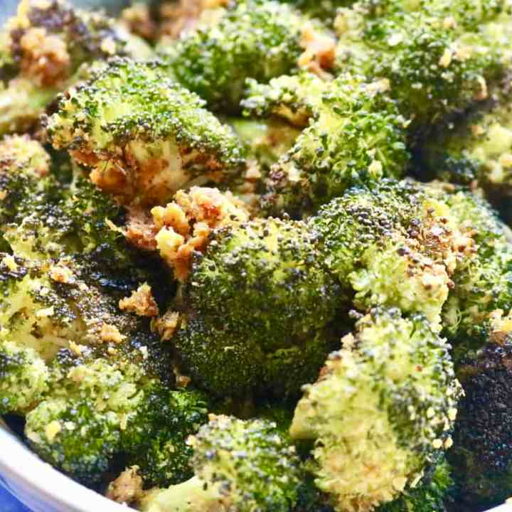 Cheesy Vegan Broccoli