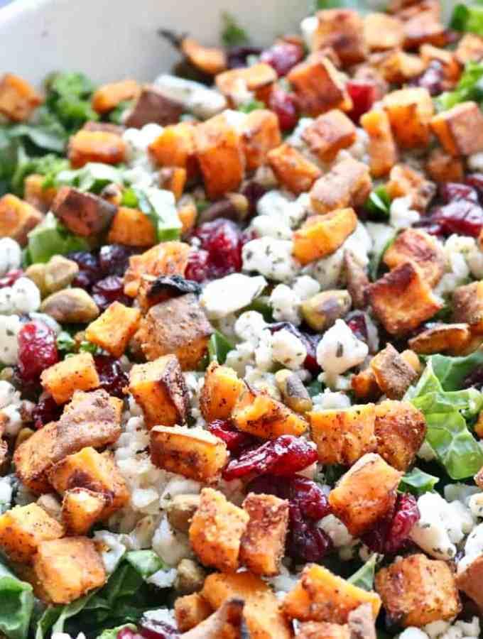 Simple Winter Kale Salad