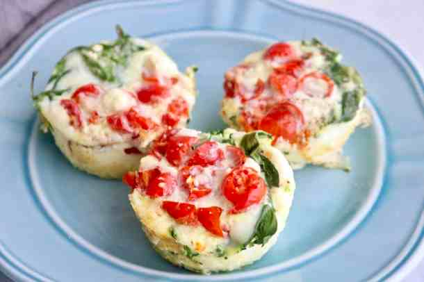 Veggie Egg White Bites
