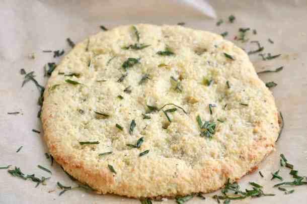 Keto Herby Focaccia Bread