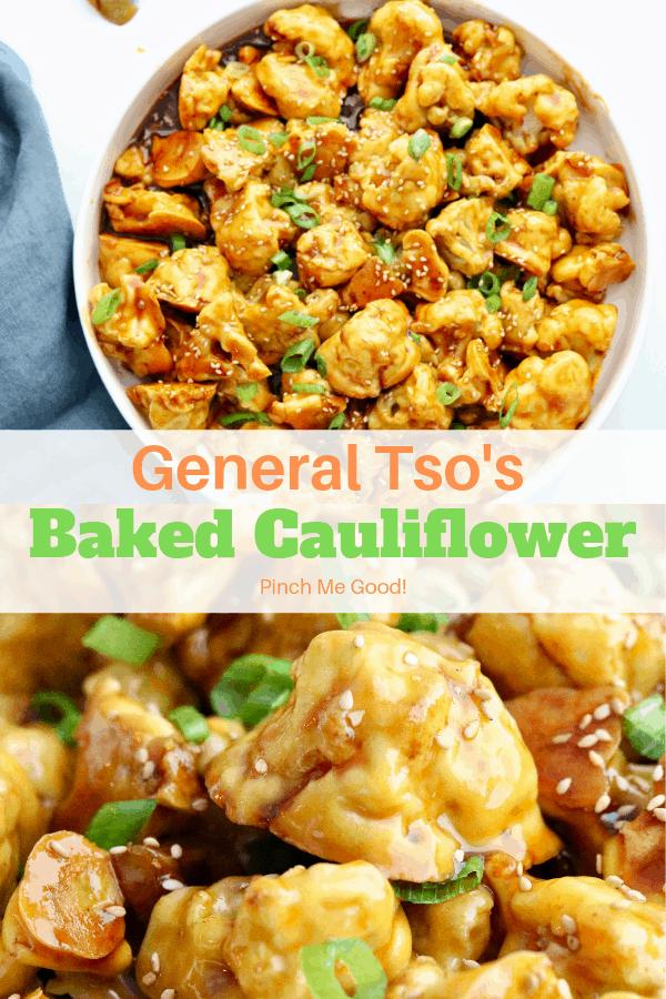 General Tso's Baked Cauliflower