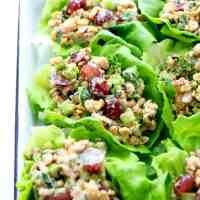 Simple Chickpea Chicken Salad