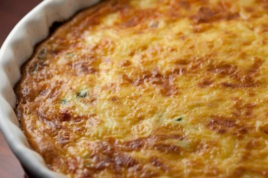 Quiche Hot from Oven
