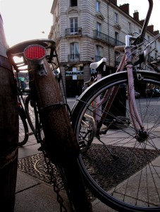 Biking in Rennes