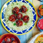 Sesame Chicken Meatballs