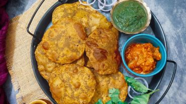 Rajma Masala Poori