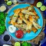 Turkish Air Fried Borek | Vegan spinach and cheese rolls | Vegan snacks