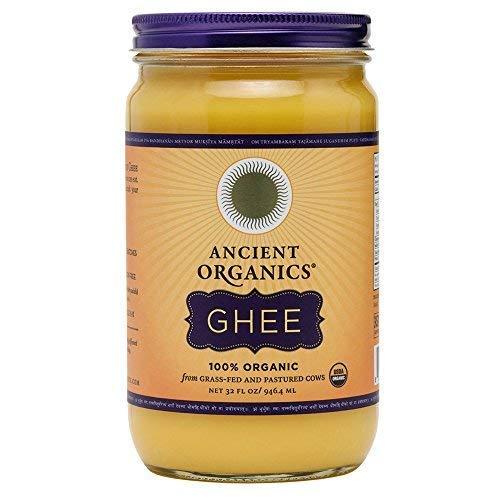 Ancient Organics Ghee, Organic Grass Fed Ghee Butter – Gluten Free Ghee