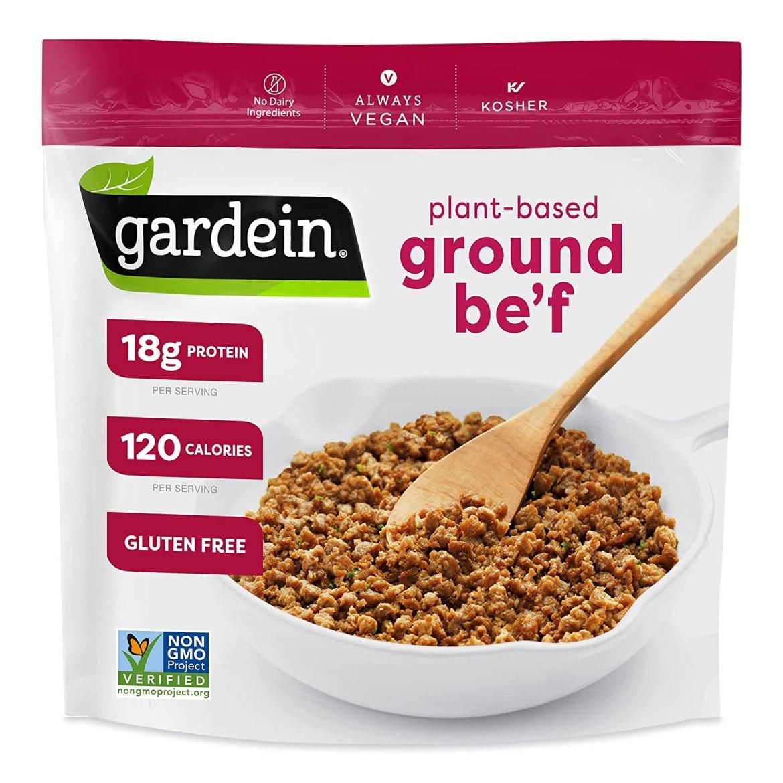 Gardein Gluten-Free Ultimate Plant-Based Beefless Ground Crumbles, Vegan, Frozen
