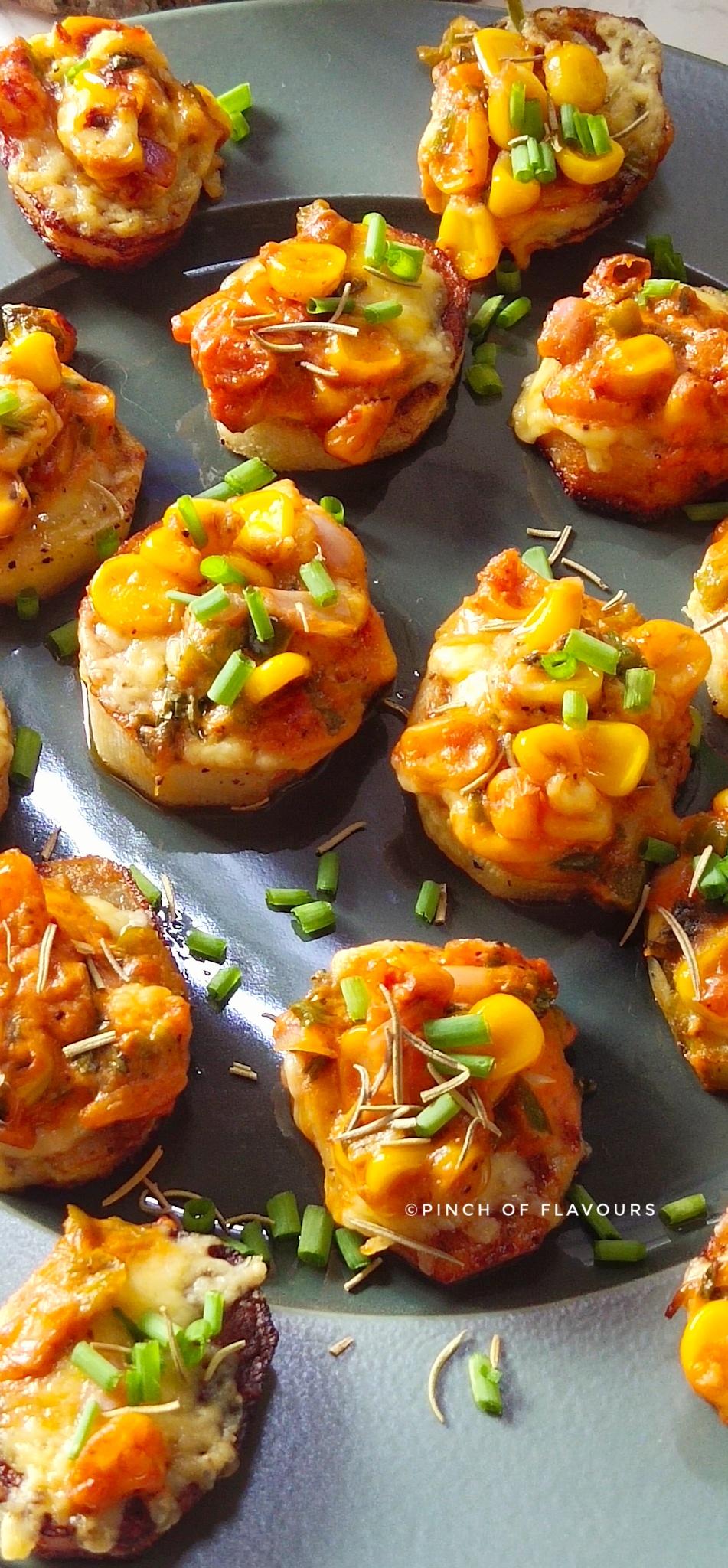 Baked Potato Slices - sliced baked potatoes