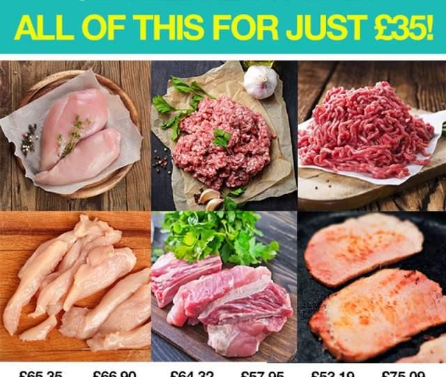 Protein Food Shop Syn Free Meat Hamper