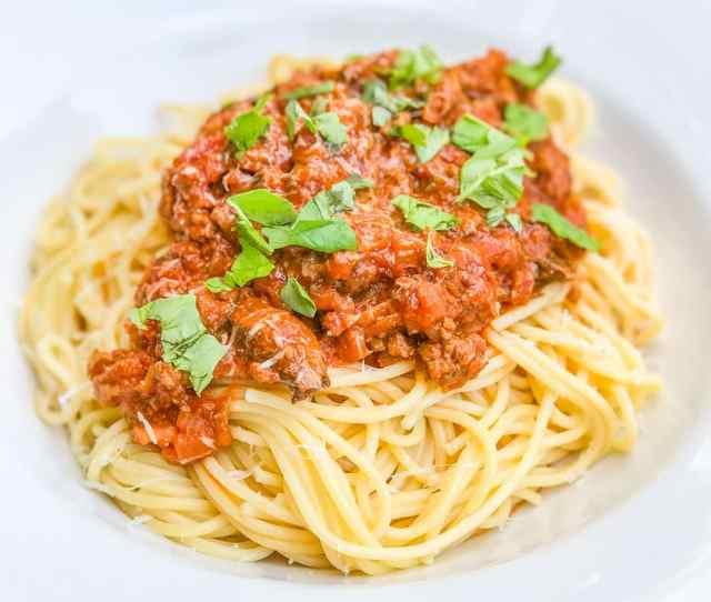 Syn Free Spaghetti Bolognese Slimming World 1