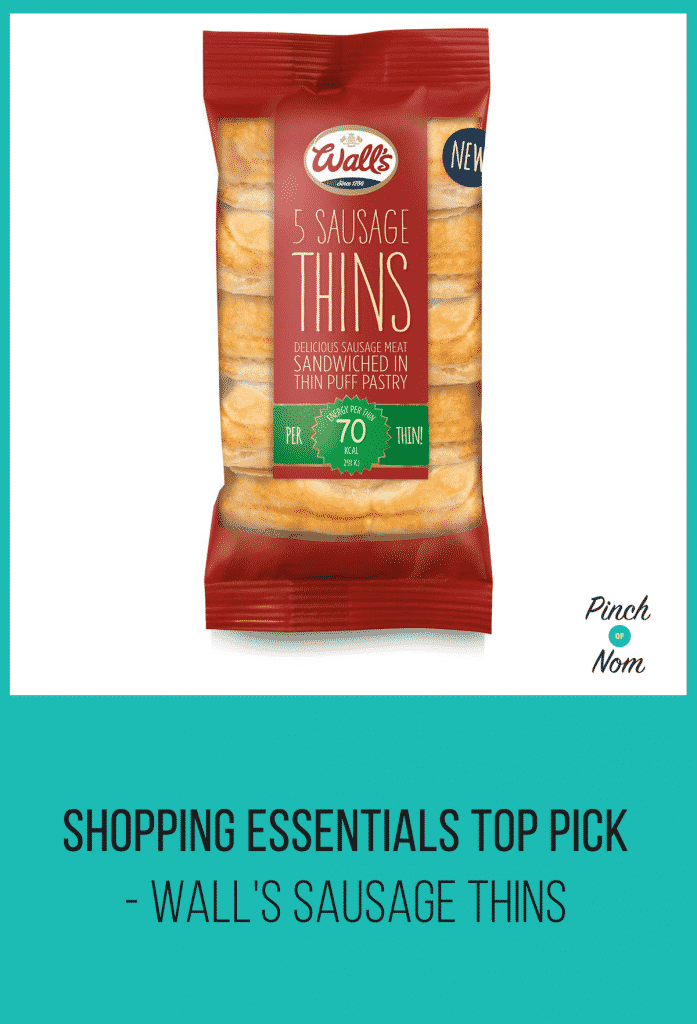 Shopping Essentials Top Pick – Wall's Sausage Thins | Slimming World