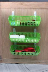 RV Storage Hacks - Command Hook Baskets