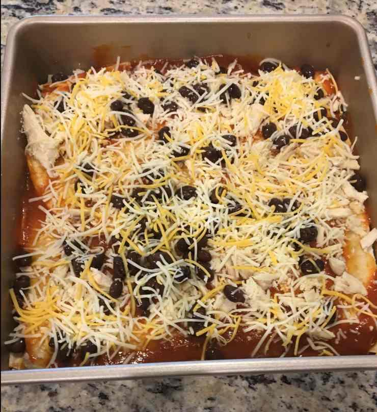 Healthy Enchilada Bake