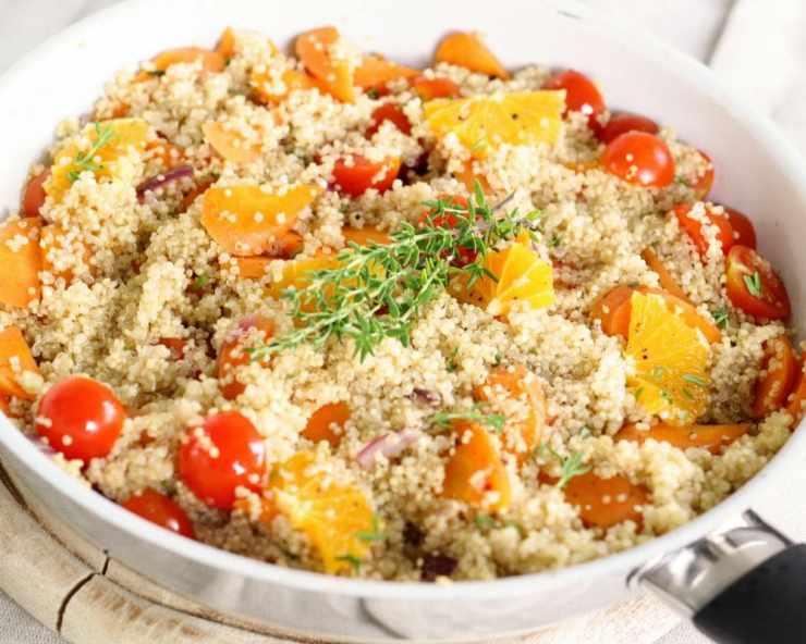 Quinoa- health benefits 101 plus recipe for tex mex quinoa bake