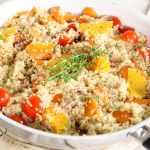 Quinoa- health benefits 101 plus recipe for tex mex quinoa bake