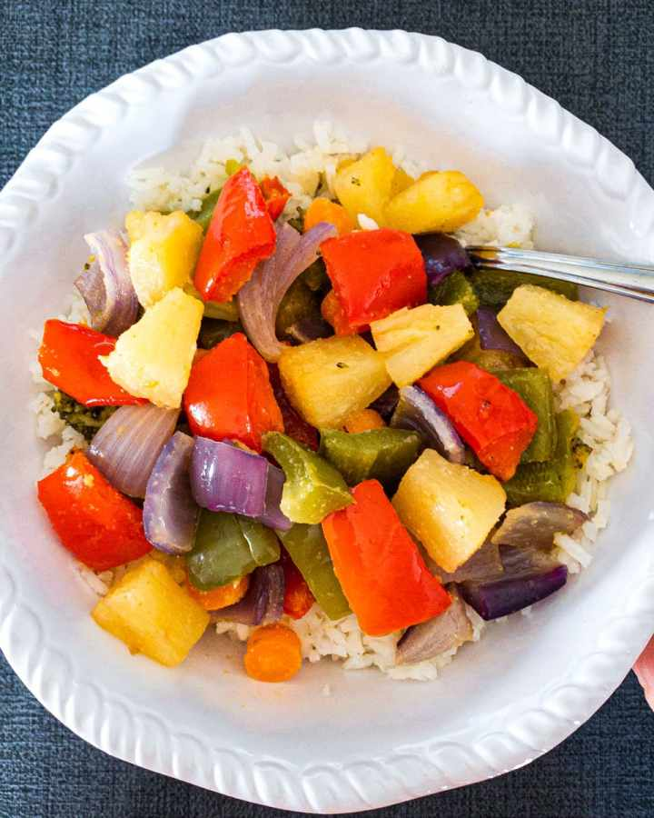 Hawaiian Roasted Vegetables