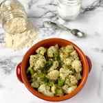 sautéed frozen broccoli and cauliflower