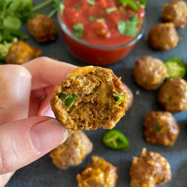 healthy mexican meatballs