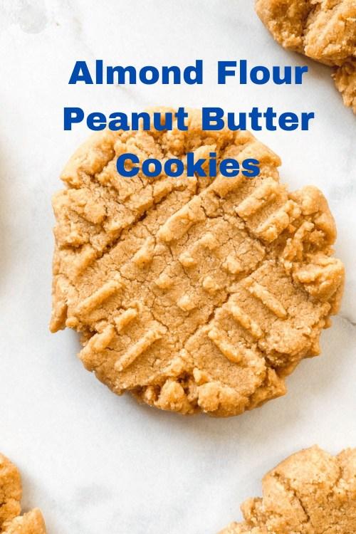 Almond Flour Peanut Butter Cookies