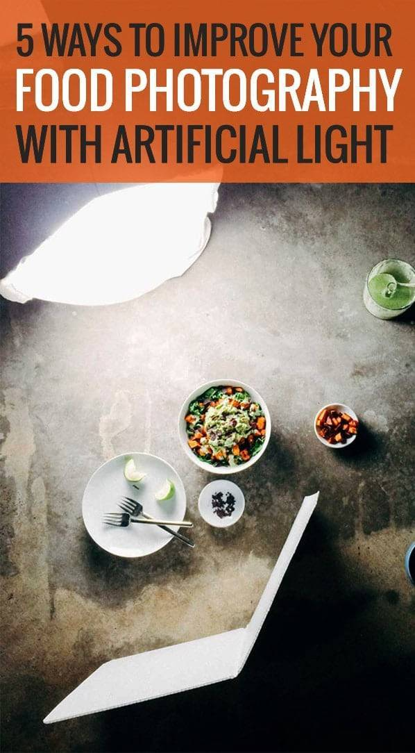 artificial lighting tips for food