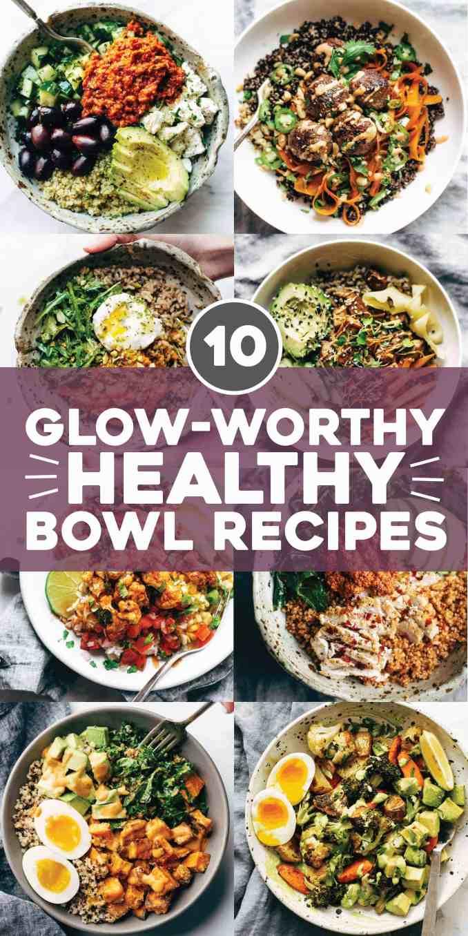 10 Best Healthy Bowl Recipes - Pinch of Yum