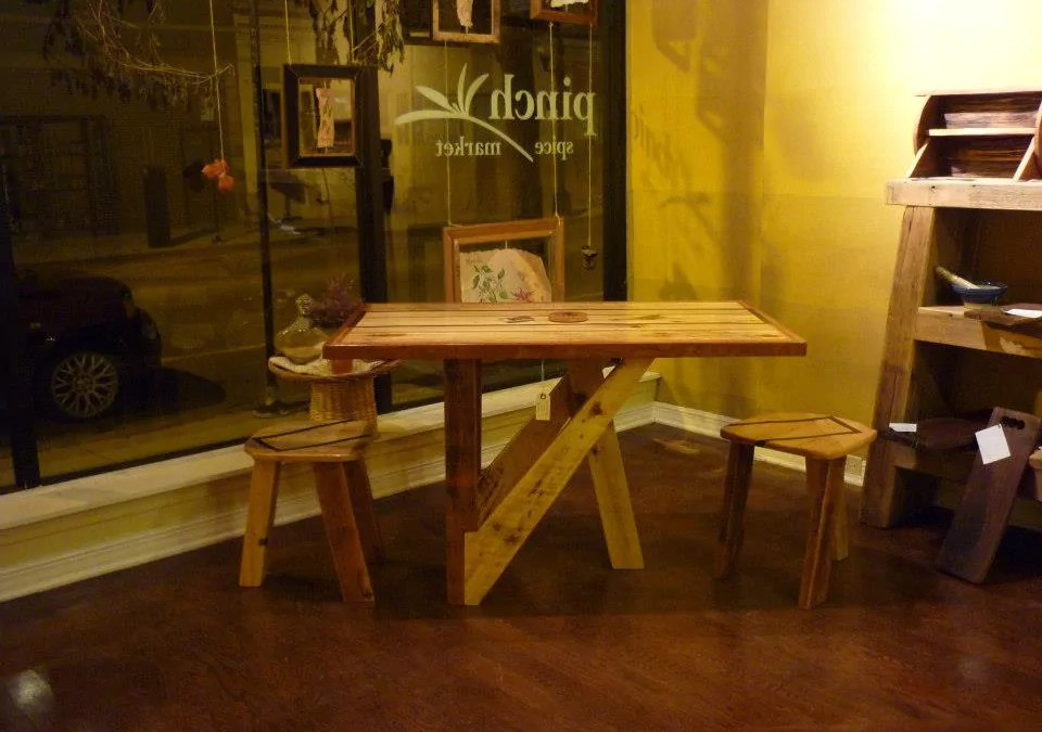 Stunning Reclaimed Wood Furniture at Pinch