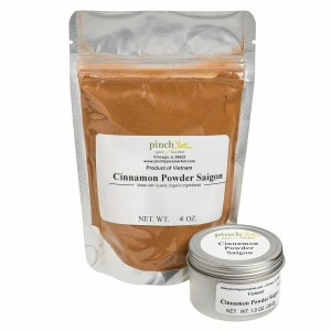 Saigon Sweet Cinnamon in bag and tin