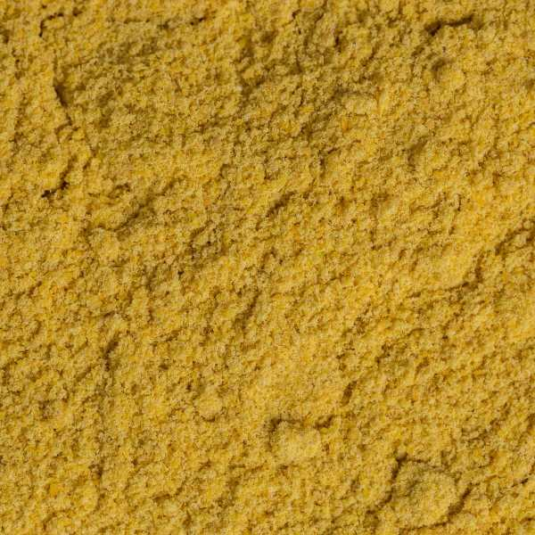 mustard powder close up yellow