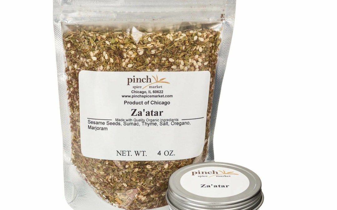 Delicious Middle Eastern Hummus Recipe with Our Za'atar Blend
