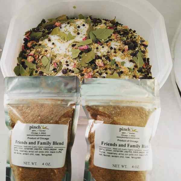 annual friends and family organic spice blend
