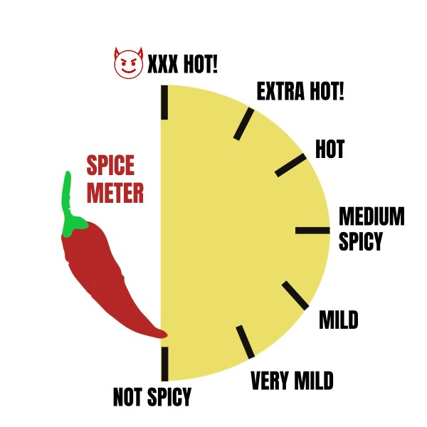 not very spicy spice