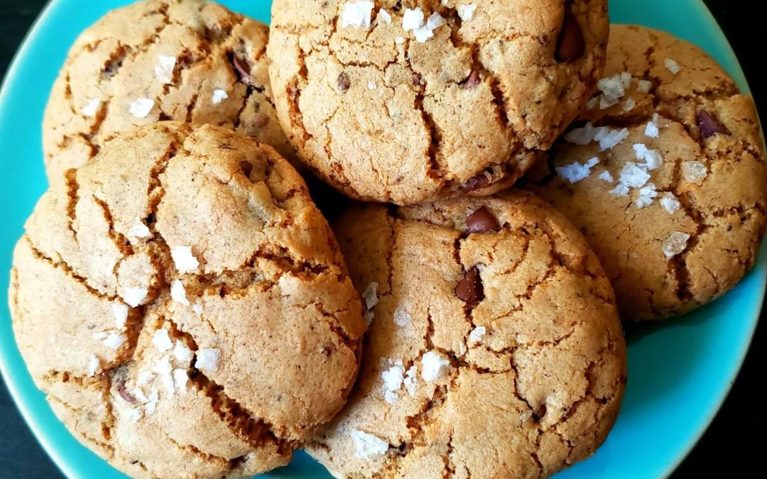 """Dirty """"Chai Town"""" (Masala) Mocha Latte Cookies"""