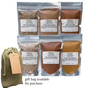 gift for quarantine comfort six pack spices