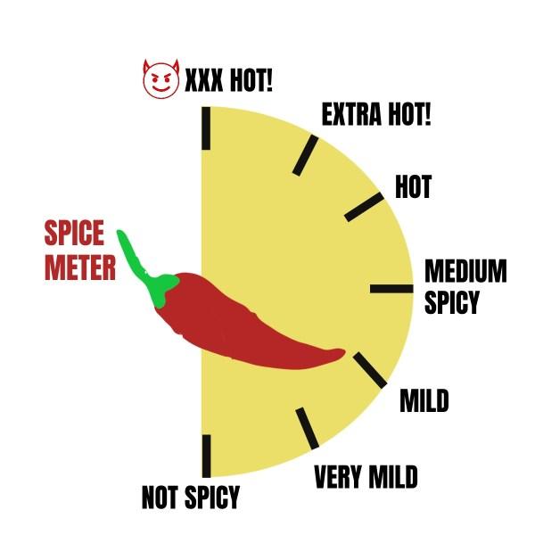 a mild spice