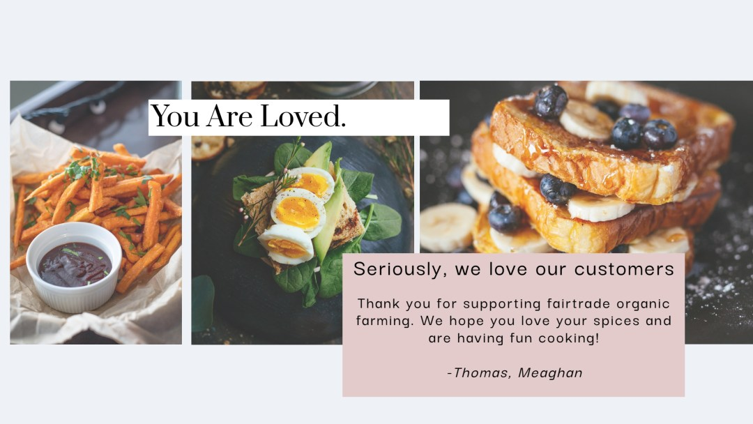 we love our customers and are grateful for you