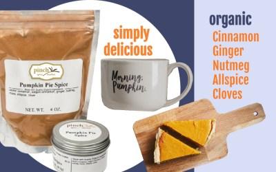 24 Delicious Recipes with Organic Pumpkin Pie Spice