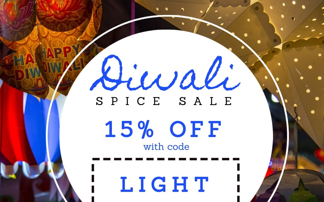 Diwali Spice Sale: 15% Off Everything + A Surprise at the End…