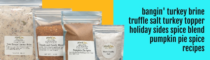 types of spices and brine in kit