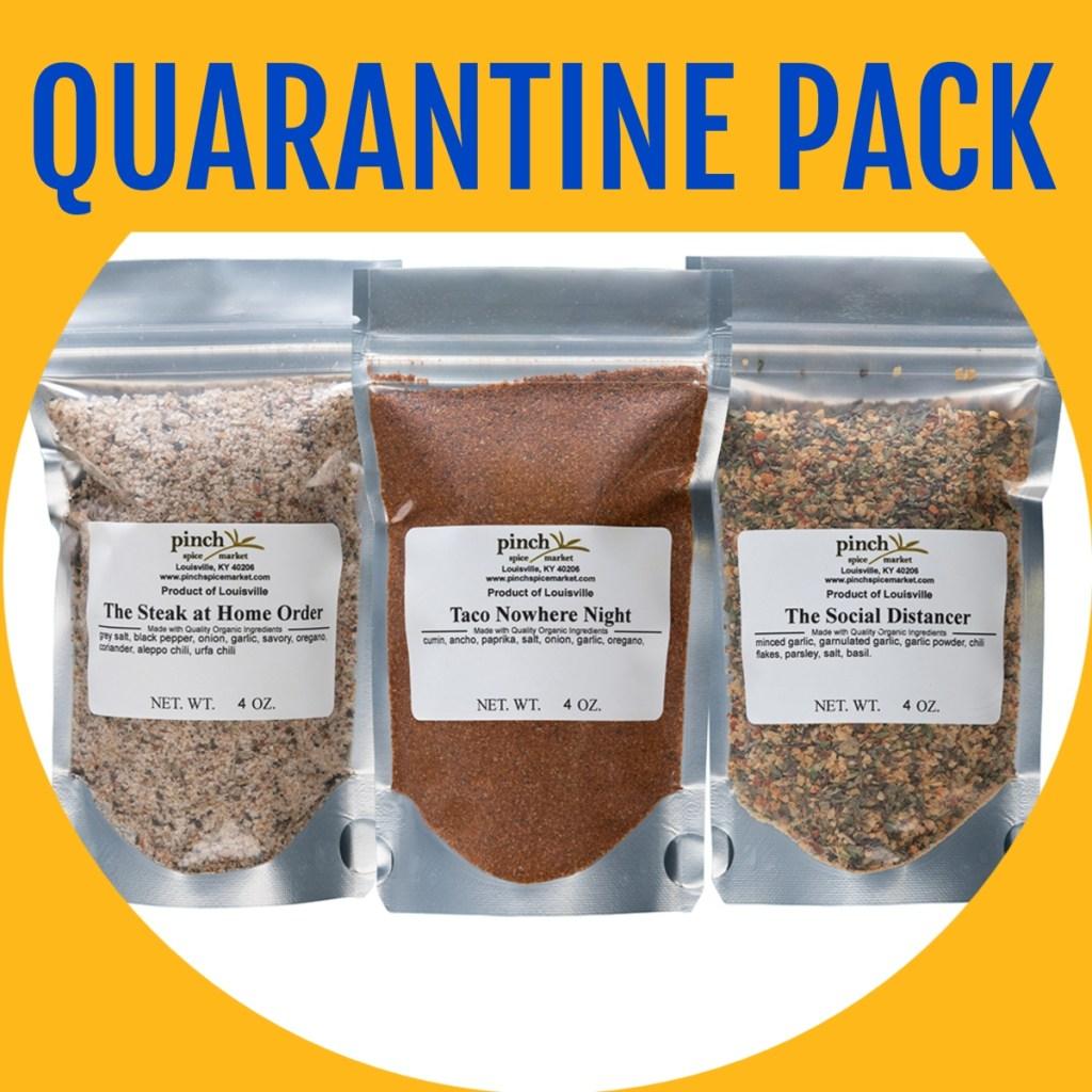 three pack quarantine spices
